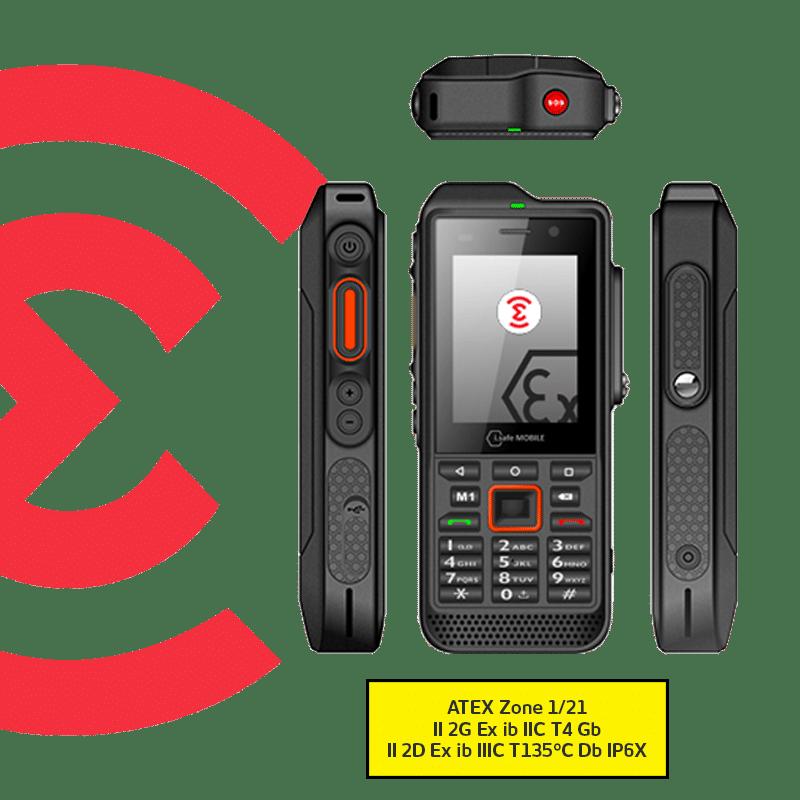 Smartphone Atex e-IS330.1