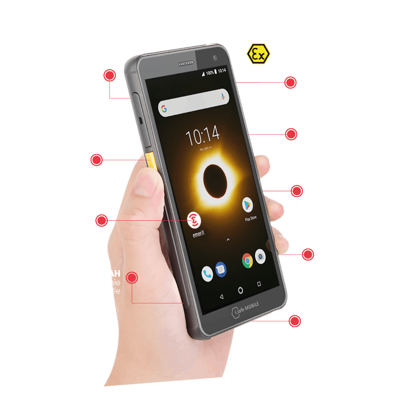 Smartphone IS655.2 Emerit