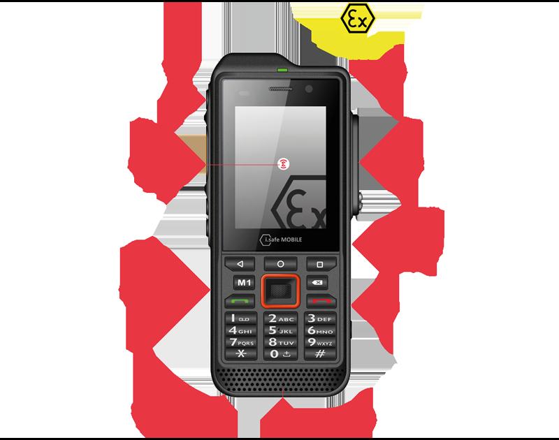 e-IS330.2 Téléphone PTI ATEX Emerit