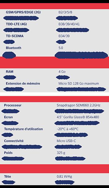 Spécifications techniques IS530.1