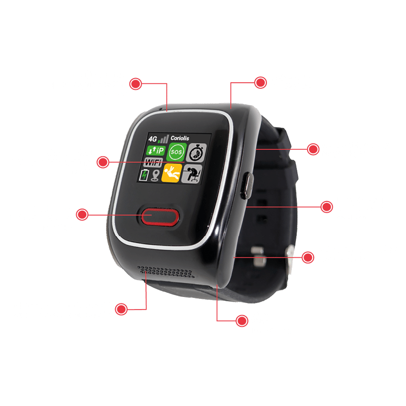 fonctionnalités emerit Watch e-wg100